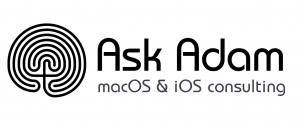Ask Adam macOS & iOS consulting